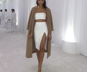 fashion, Chanel Iman, and dress image