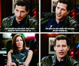 tv show, brooklyn nine-nine, and jake peralta image