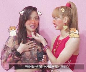 blackpink, lalisa manoban, and kim jisoo image