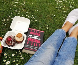 book, Charles Manson, and cupcakes image