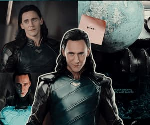 background, Marvel, and trickster image