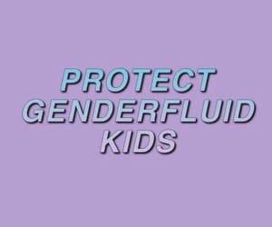 bisexual, love is love, and gender fluid image