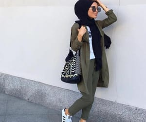 hijab, fashion, and modesty image