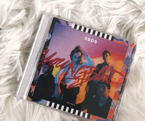 album, cd, and youngblood image