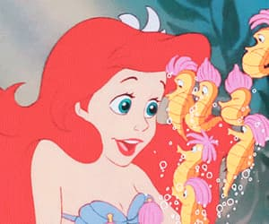 ariel, disney, and fairy tales image