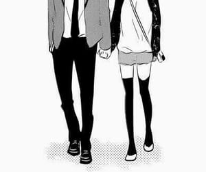 manga, couple, and anime image