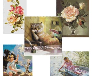 embroidery, etsy, and needlepoint image
