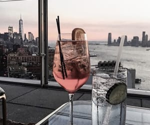 drink, city, and cocktail image