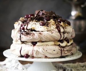 food, yummy, and cake image