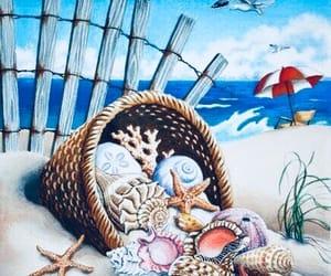 art, beach, and inspiration image