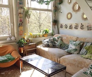 aesthetic, bohemian, and home image