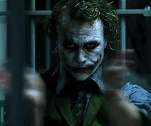 gif, the dark knight, and heath ledger image