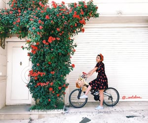 bicycle, happy, and summertime image