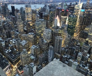 city, empire, and empire state image