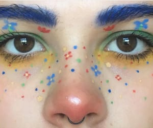 aesthetic, colors, and makeup image