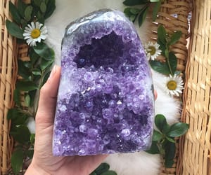amethyst, brazil, and crystal image
