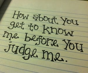 quotes, judge, and know image