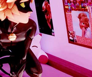 Chat Noir, gif, and miraculous ladybug image