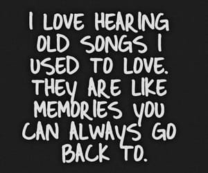 memories, songs, and old songs image