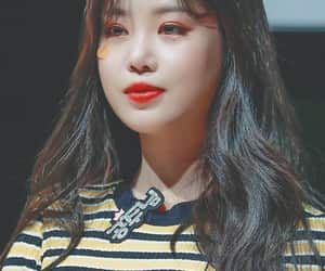 girl, (g)i-dle, and idle image