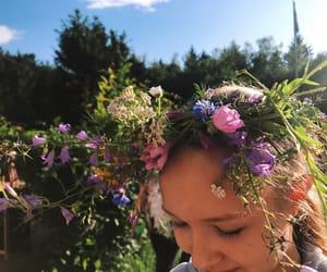 midsummer, nature, and estonian image