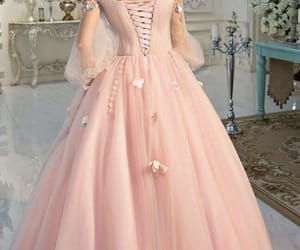 dresses, pink, and styles image