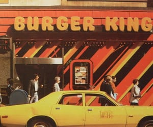 vintage, 70s, and burger king image