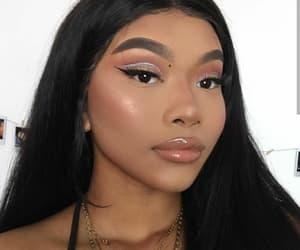 model, instagram, and makeup image