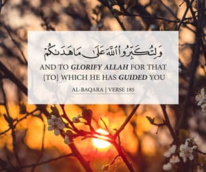 allah, sunset, and verses image