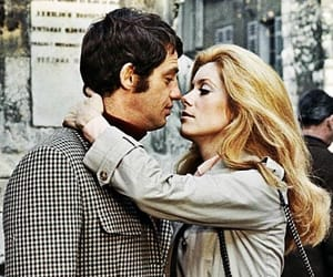 catherine deneuve, jean-paul belmondo, and la sirène du mississipi image