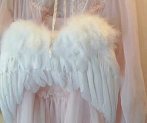 angel, Angel Wings, and pure image