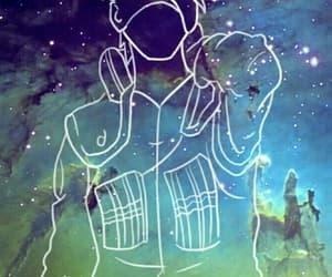 kakashi, galaxy, and naruto image
