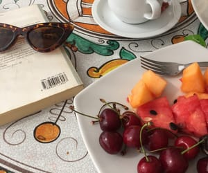 breakfast, fruit, and italy image