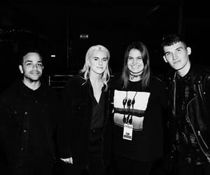 lynn gunn, pvris, and alex babinski image