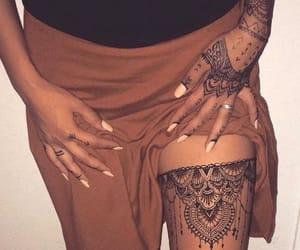 henna, tatto, and bg image