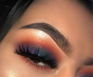 makeup and sunset image