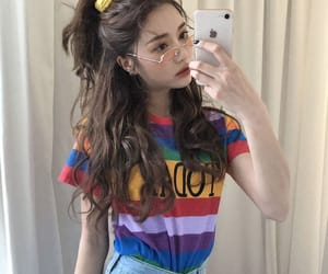 fashion, ulzzang, and cute outfit image
