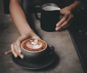 I love it, ❤, and coffee image