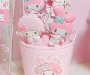 pastel, pink, and my melody image