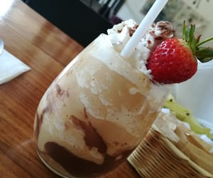 cafe, delicious, and frappe image