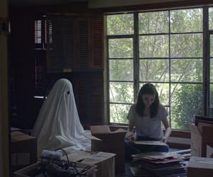 Casey affleck, rooney mara, and a ghost story image