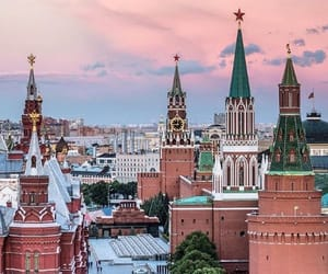 architecture, moscow, and kremlin image