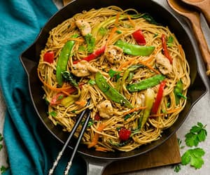 food, cook, and pasta image