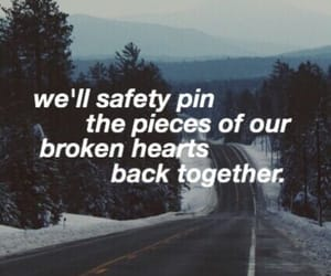 5sos, broken, and Lyrics image