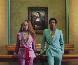 art, couple, and jay-z image