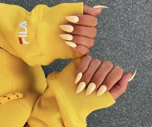 beauty, Fila, and nails image