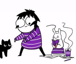cartoon, cats, and comics image