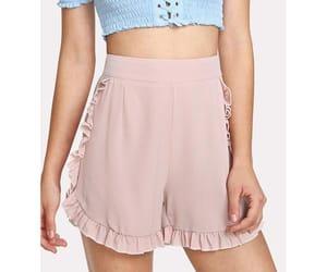 clothing, fashion, and pink shorts image