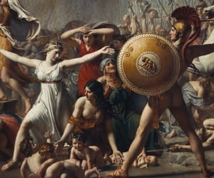 art, Jacques-Louis David, and painting image
