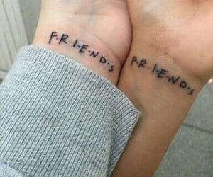 tattoo, friends, and friendship image